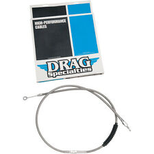 Drag Specialties Braided Clutch Cable Harley Softail Standard FXST 2000-2006