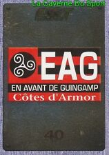 121 ECUSSON LOGO BADGE # EAG GUINGAMP STICKER PANINI FOOT 2016