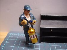 1/18? - Billet Aluminum NOS BOTTLE - GOLD - for your shop/garage/diorama