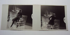 "2 Negatives Nudes Artist Studio Interior !940's-50's Poses 2 1/4"" x 2 1/4""  i"
