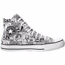 Converse All Star Chuck zapatos UE 41 UK 7,5 comic Limited Edition vintage black