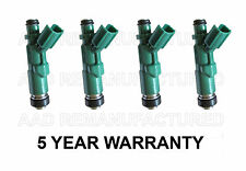 * 5 YEAR WARRANTY * Genuine Denso Set Of 4 Fuel Injectors for Toyota Scion 1.5L