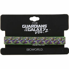 "Marvel Guardians of the Galaxy VOL. 2 BABY GROOT TREE ONE 1/2"" rubber bracelet"