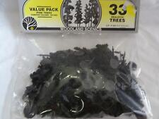 "Woodland Scenic TR1080 33 Realistic Trees 2.5""- 4"" tall N HO O Scale Trains (PL)"