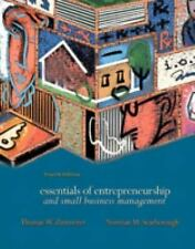 Essentials of Entrepreneurship and  Small Business Management (4th Edi-ExLibrary