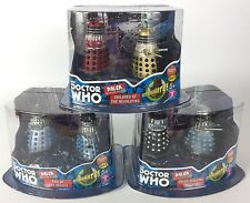 Doctor Who Dalek Figure Collector Set #1, #2 & #3, Full Set, New