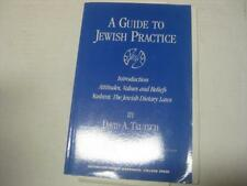 A guide to Jewish practice Introduction. Attitudes, values, and beliefs. Kashrut