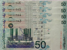 RM50 Ahmad Don side sign 4 pcs Running Number Note AM 2101543 - 546