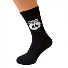 Made in 1946 70th Birthday Socks American Highway Sign Style