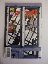 SPIDER-MAN ISSUE # 57.  APRIL 1995. DIE CUT PRISON CELL CARD STOCK COVER. N.MINT