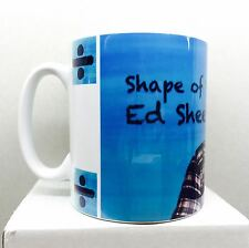 ED SHEERAN SHAPE OF YOU MUSIC CELEBRITY PRINTED MUG MUGS-CHRISTMAS GIFT,BIRTHDAY