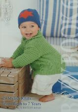 KNITTING PATTERN BOOK Baby Book 6 King Cole KNITTING PATTERN BOOK
