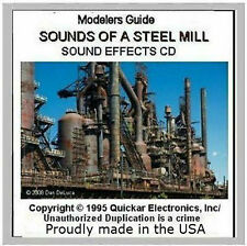 GREAT SOUNDS OF A STEEL MILL SOUND EFFECTS CD FOR MODEL RAILROADS