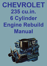 CHEVROLET 235 V6 ENGINE REBUILD MANUAL