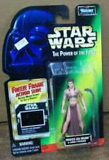 STAR WARS POWER OF THE FORCE FREEZE FRAME SLAVE LEIA ON CARD #sw-441