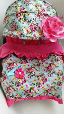 baby car seat cover canopy cover Blanket Set most infant seat baby blue pink
