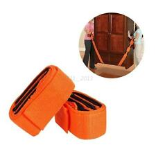 Hot Orange Durable Solid Band Straps Lifting and Moving furniture Carrying Belt