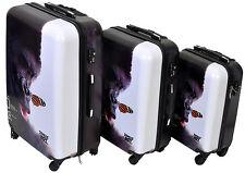 """Set of 3 Polycarbonate Hardcase Lightweight Locking Luggage case (19"""", 24"""", 27"""")"""