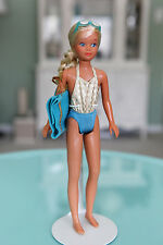 Vintage 1983 Barbie Sun Gold Malibu Skipper