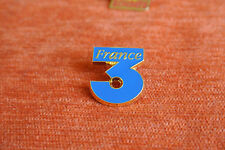 04626 PIN'S PINS TV TELE FR3 FRANCE 3 Dos QUALITE COLLECTION SERIE LIMITEE PARIS