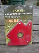 50lb ARROW MAGNETIC SHEET METAL HOLDER, WELDING CLAMP