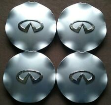"4pcs SET 03-05 Infiniti FX35 FX45 18"" 7 SPOKE Wheel Hub Center Caps 40315-CG010"