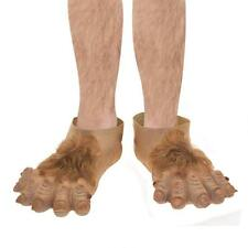 Adult Unisex Mens Ladies Hobbit Feet for Goblin Fancy Dress Accessory