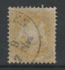 Germany (Bavaria) - 1870/73, 10k - Wmk Narrow Mesh 14mm - F/U - SG 60B