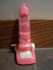 1993 Barbie Magic Moves Pink Wind Up Vacuum Cleaner HTF