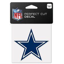 """Dallas Cowboys Perfect Cut 4""""x4"""" Color Decal (NEW) Auto Sticker Emblem NFL"""