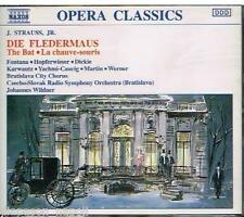 J. Strauss, Jr.: Die Fledermaus (Il Pipistrello) / Wildner, Fontana,. CD