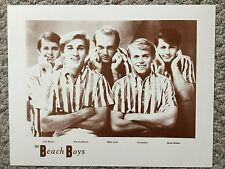 The Beach Boys group photo Sepia Poster