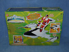 POWER RANGERS TIME FORCE DELUXE DX TIME JET with RED POWER RANGER