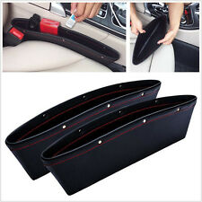 1Pc Auto KFZ Seat Slit Gap Pocket Catch Catcher Box Storage Ablagefächer Tasche