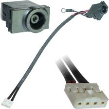 SAMSUNG NP-R518 NP-R519 DC Jack Power Port Socket Connector Cable wire di cablaggio