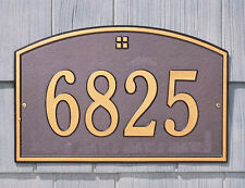 """Whitehall Cape Charles Address Personalized Plaque Estate-Size Up to 7"""" Font!"""