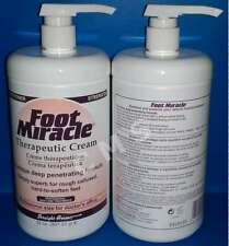 Straight Arrow FOOT MIRACLE Professional Therapeutic Dry Skin Cream 32oz Pump US