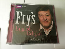 FRY'S ENGLISH DELIGHT - SERIES 2 - STEPHEN FRY - NEW/SEALED BBC 2 CD AUDIO BOOK