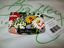 NEW Vera Bradley Kiss Me Twice POPPY FIELDS Lip Stick Case w Mirror nwt Black