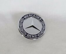 MERCEDES HOOD STAR EMBLEM R ML GLK G GL E CL CLASS GENUINE OEM BADGE sign logo