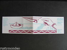 FT2b, £1.55, Social Letter Writing series Booklet, Design No2- Letters, MNH