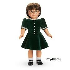 American Girl Molly's Green CHRISTMAS DRESS Outfit NOT INCLUDED DOLL SHOES SOCKS
