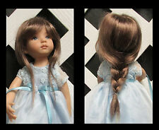 "Doll Wig, Monique Gold ""Venus"" Size 7/8 in Two Tone Brown (looks solid)"