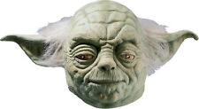 Yoda Mask Deluxe Adult Clone Wars Star Wars Full Overhead Latex - Fast Ship -