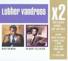 Never Too Much/The Night I Fell in Love [Box] by Luther Vandross (CD, Feb-2008,