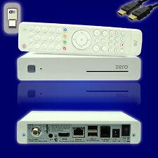 VU+ Plus Zero 1xDVB-S2 Tuner Linux E2 Sat Receiver weiß IPTV + HDMI + WLAN Stick