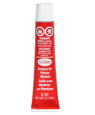 Plastic Model Cement Made by Testors 5/8 oz. Tube    We combine shipping    3501