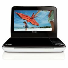 "Philips PD9000 9"" LCD PORTABLE DVD PLAYER W/ 5 HOUR BATTERY & BUILT-IN SPEAKERS"