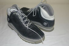 TIMBERLAND MEN'S Navy Geniune leather/Man made lace up ankle boots Size 9 1/2 M