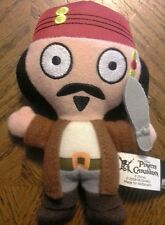Pirates of the Caribbean McDonald's Toy Jack Sparrow # 4 from 2006 Plush